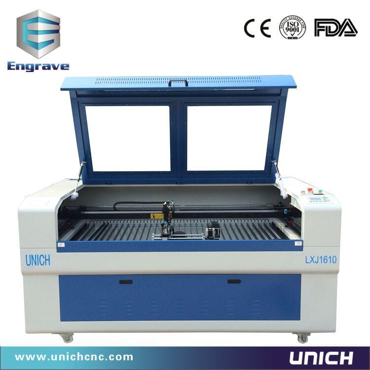 CNC Acrylic leather wood MDF 3d laser cutting machine price LXJ1610(China (Mainland))
