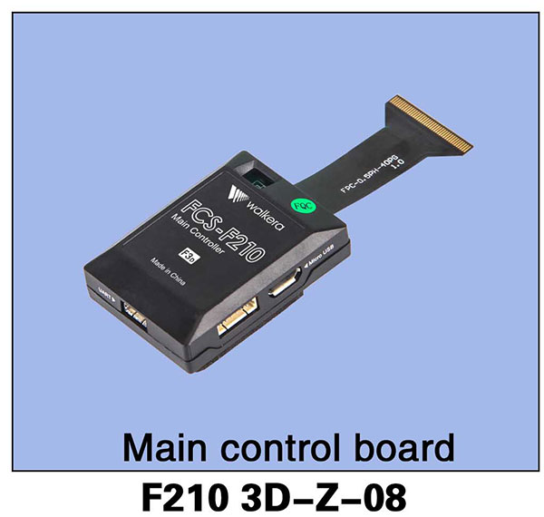 Фотография F210-Z-08 Main Control Board Original Walkera F210 Professional Racer Drone Rc Spare Part Parts Accessories Rc Helicopter