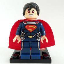 Minifigures For Individually Sale Marvel DC Super Heroes Avengers Batman Building Blocks Sets Model Bricks Toys Lego Compatible(China (Mainland))
