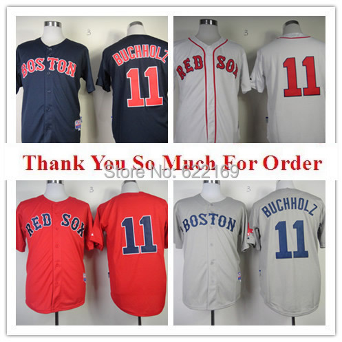 #11 Clay Buchholz Jersey 2015 #11 throwback 2015 11