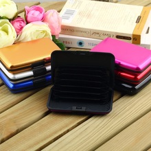 1pcs Business ID Credit Card Waterproof Aluminum Newest Promotion Wallet Holder Pocket Case Box