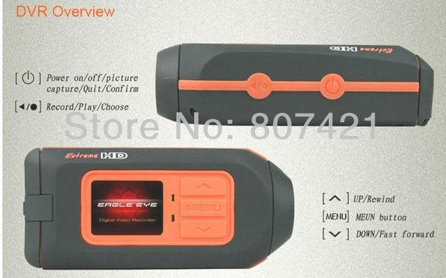 Lowest ! 2013 High quality sports camera hd HD 1080P 30FPS RA119A Ambarella DSP Car dvr