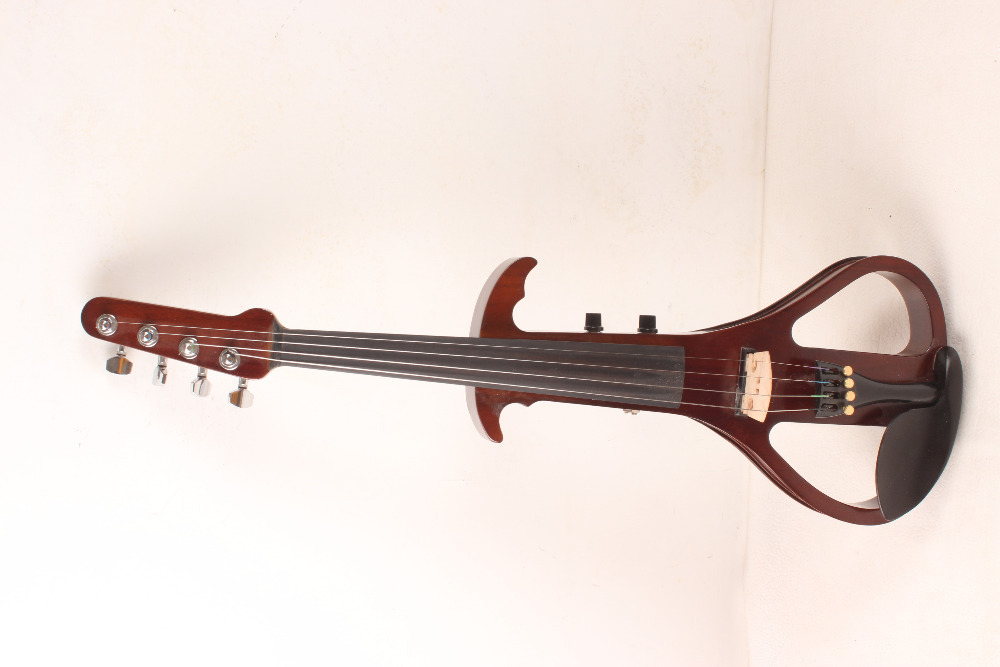 4 string guitar neck big pick up 4/4 Electric Violin Silent Pickup Fine tone Solid wood3# the item is the color can choose color(China (Mainland))