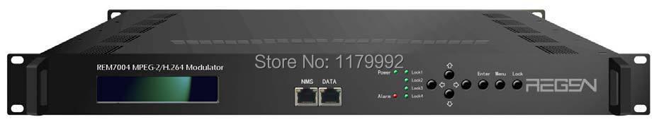 MPEG-2/H.264 Video Processor HDMI TO DVB-C Four-Channel HD Encoder Modulator DVB-C RF Modulator REM7004_HDMI-C(China (Mainland))
