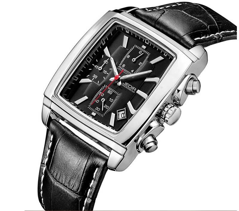 Top Brand MEGIR Men Watches Fashion Men Military Quartz Wristwatches Luxury Genuine Leather Watches Waterproof Relogio Masculino<br><br>Aliexpress
