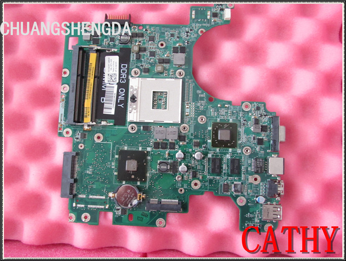 Laptop Motherboard FOR DELL Inspiron 1564 HM55 4CCPK 04CCPK CN-04CCPK DA0UM3MB8E0 ATI HD4330 100% fully tested(China (Mainland))