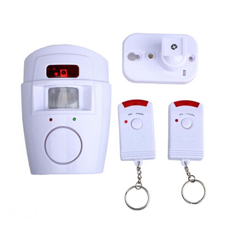 Гаджет  Remote Home Security System Detector Alarm Wireless IR Infrared Motion Sensor None Безопасность и защита