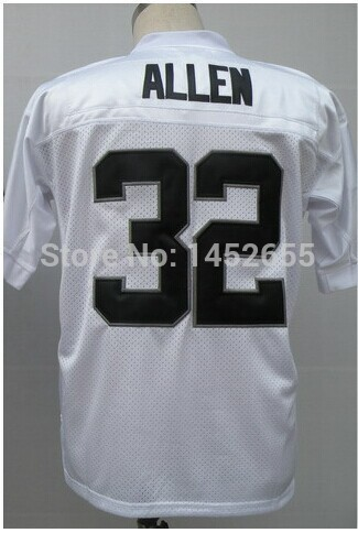 Great quality#32 Marcus Allen Jersey,Throwback Football Jersey,Sport Jersey,Great quality.Fast shipping
