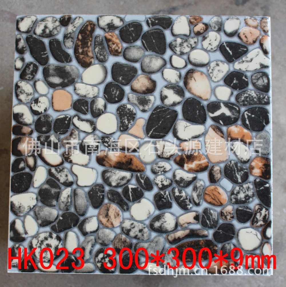 Supply of three-dimensional convex cobblestone dark series massage floor tiles, polished crystal tile, tile STY(China (Mainland))