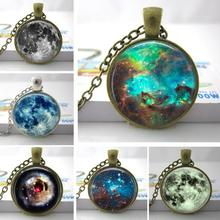 Buy C22 Nebula Space Pendant, Astronomy Geek Jewelry, Nebula Pendant Galaxy Necklace Space Necklace Glass Dome Pendant for $1.13 in AliExpress store