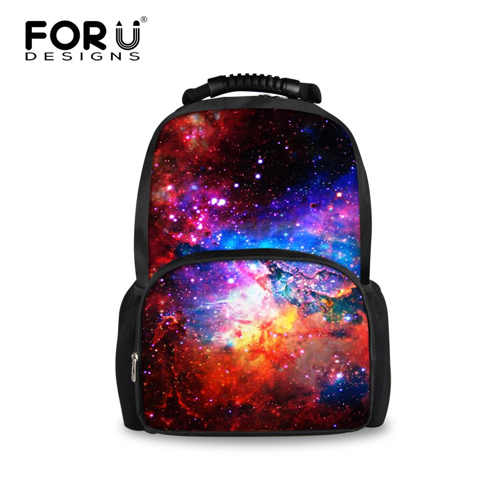 Men Women Laptop Backpack Galaxy Star Universe Space Back pack for Teenager Girls Boys School Backbag Mochila Feminina Rucksack(China (Mainland))
