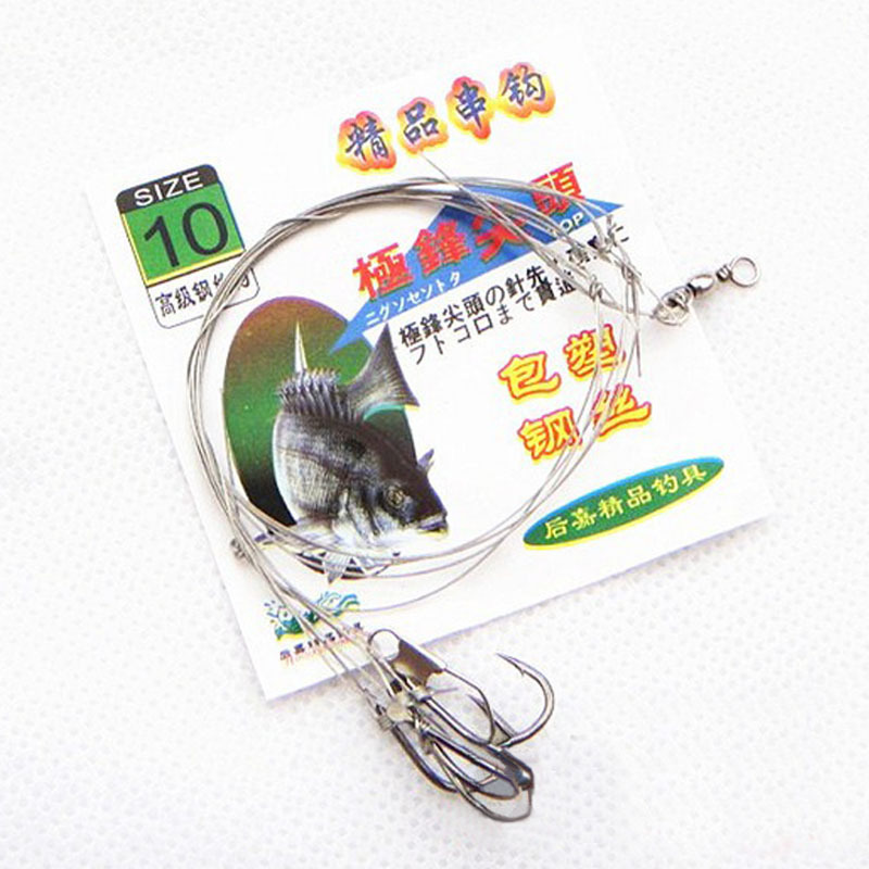 String hook wire string hook fishing equipment fishhook for Wholesale fishing equipment