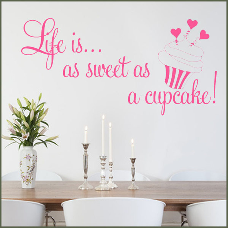 cupcake wall decals cupcake wall decor bloggerluv com cup cake wall stickers by oakdene designs