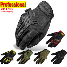 New Mechanix Wear M-Pact Tactical Military Airsoft Shooting Outdoor Motorcross Bicycle Motorcycle Armed Full Finger Gloves<br><br>Aliexpress