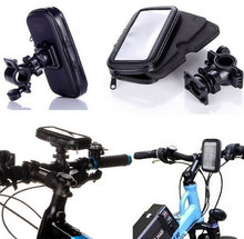 Bike Phone Holder for Samsung Galaxy S5 S6 S6 Edge/S6 Edge Plus with Handlebar Mount & Waterproof Case Bag