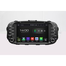 Rockchip 3188 Cortex A9 HD 1024*600 Quad Core 1.6G CPU 16GB Android 5.1.1 Car DVD Player Radio GPS Navi Stereo for KIA SOUL 2014