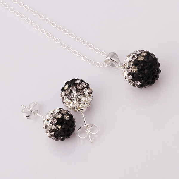 Fashion Jewelry Online Cheap crystal shamballa set fashion