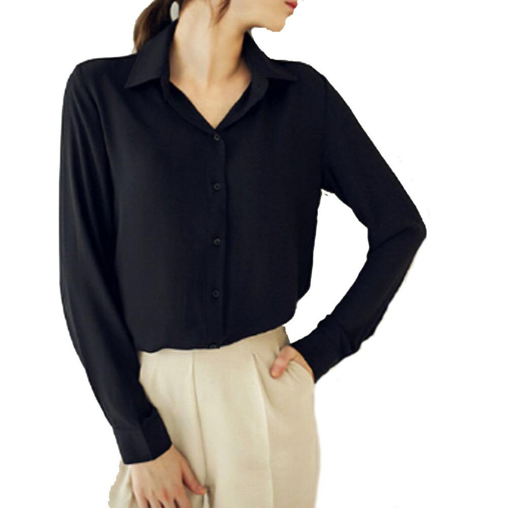Blusas femininas 2015 women shirt chiffon shirts tops for Ladies shirts and tops blouses