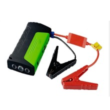 12000 mAh Emergency Car Power Bank Car Jump Starter 12V Mini Portable Multifunctional Jumper Start with EU US UK Chargr Plug