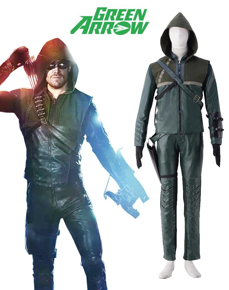 Green Arrow TV Oliver Jonas Queen Battle Suit Uniform Film Cosplay CostumeОдежда и ак�е��уары<br><br><br>Aliexpress