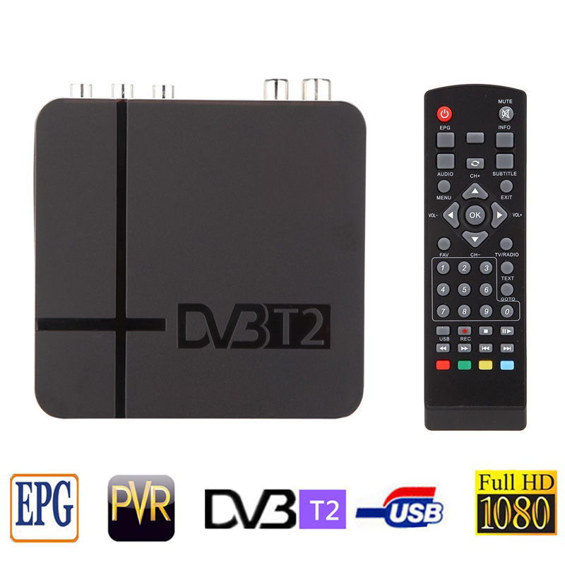 2015 newest Mini HD K2 DVB-T DVB-T2 TV DVB T DVB T2 receiver desktop set top box high definition digital terrestrial receiver(China (Mainland))