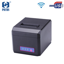 Hot shopping mall receipt printer cheap 80mm wifi pos ticket printer machine with cutter support 58&80mm thermal paper HS-E81UW(China (Mainland))