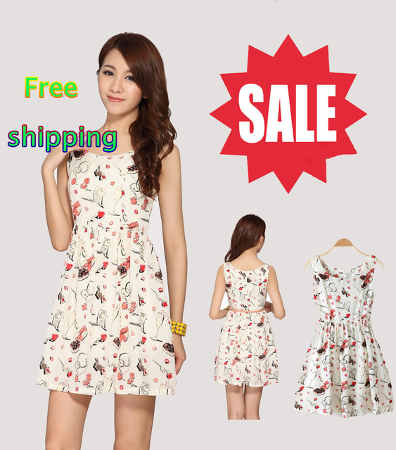 Women's summer new retro dress beauty upscale Korean dress