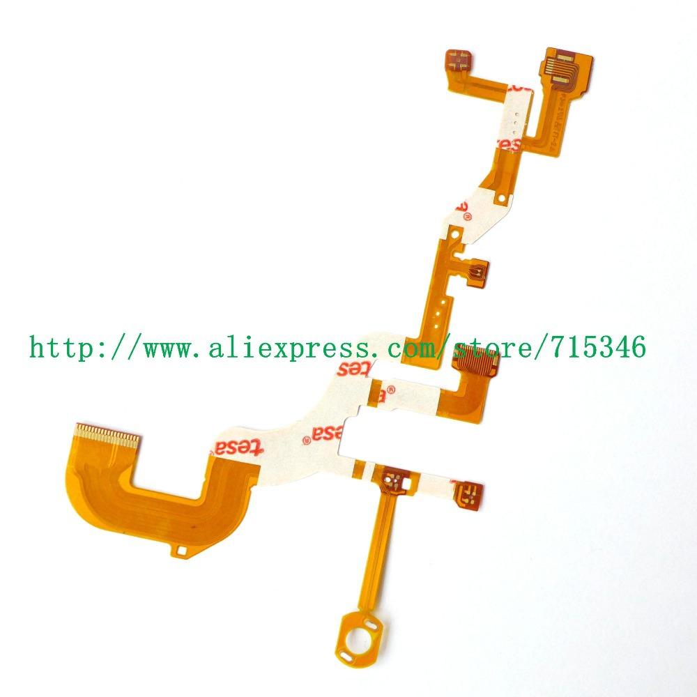 NEW Lens Back Main Flex Cable For SONY Cyber-Shot DSC-WX300 DSC-WX350 WX300 WX350 Digital Camera Repair Part (No Socket)(China (Mainland))
