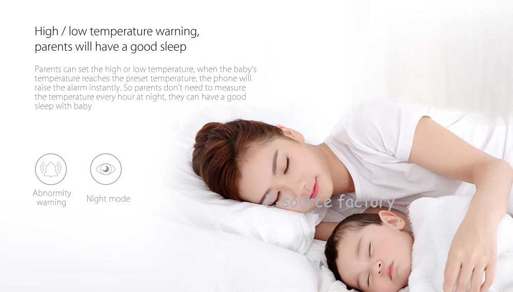 image for Xiaomi Miaomiaoce Digital Baby Thermometer Smart Clinical Thermometer