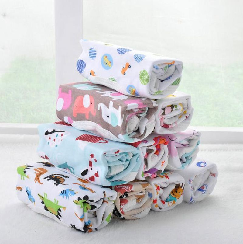 5Pieces/lot Baby Romper Girl Boy long Sleeve cartoon  Print Summer Clothing Set for Newborn Jumpsuits &amp; Rompers<br><br>Aliexpress