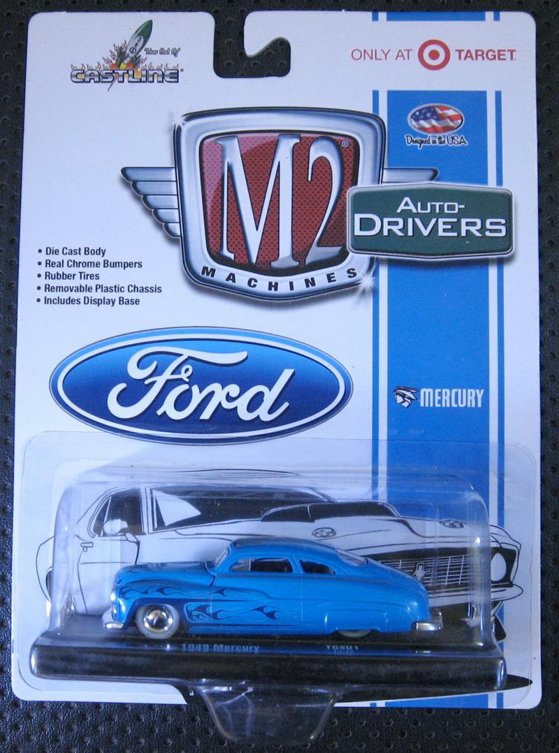 M2 Machine 1:64 1949 Mercury boutique alloy car toys for children kids toys Model Original box packing(China (Mainland))