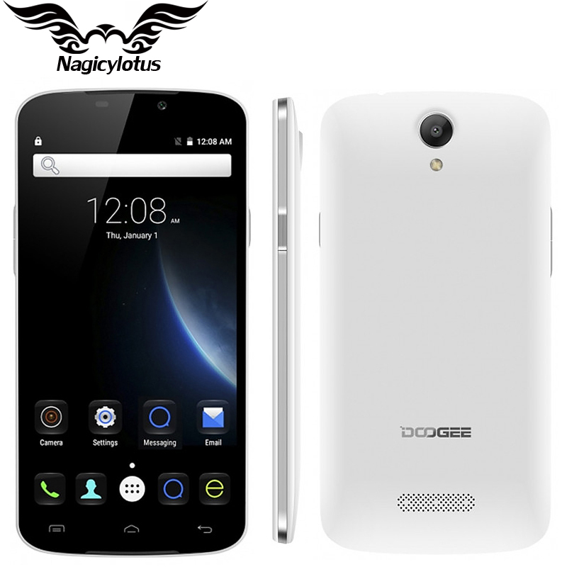 Original Doogee X6 Mobile Phone 5.5 inch HD 1280 x 720 Quad Core Android 5.1 MTK6580 8.0MP 1GB RAM 8GB ROM Dual Sim Smartphone(China (Mainland))