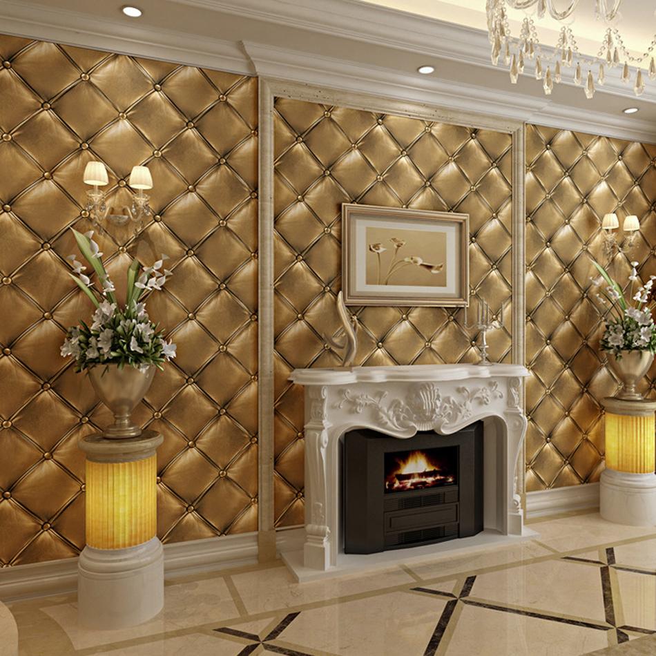 Online kopen wholesale kunstleer wandbekleding uit china kunstleer wandbekleding groothandel - Behang hoofdeinde ...