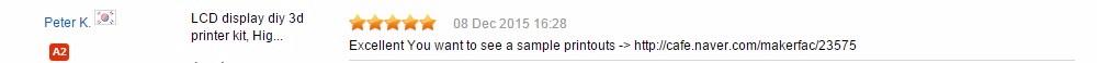printer feedback