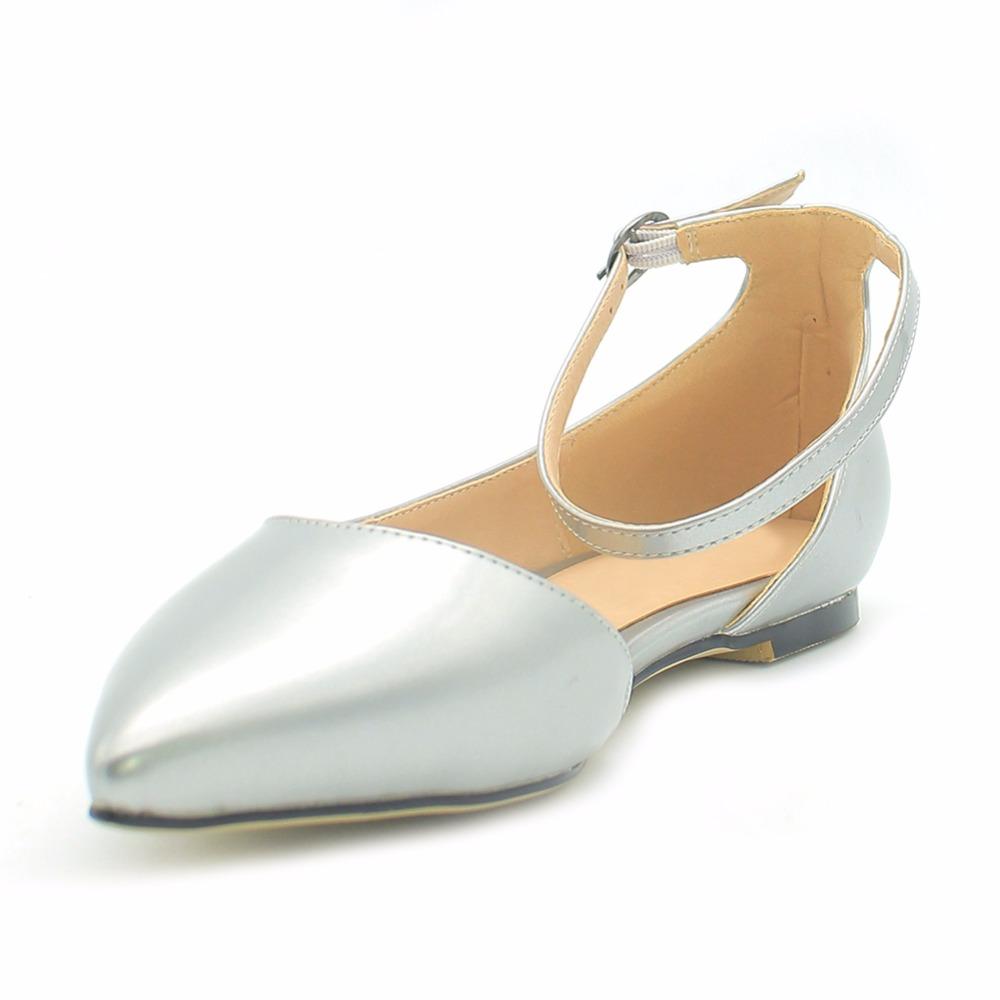 Silver Open Toe Shoes Low Heel