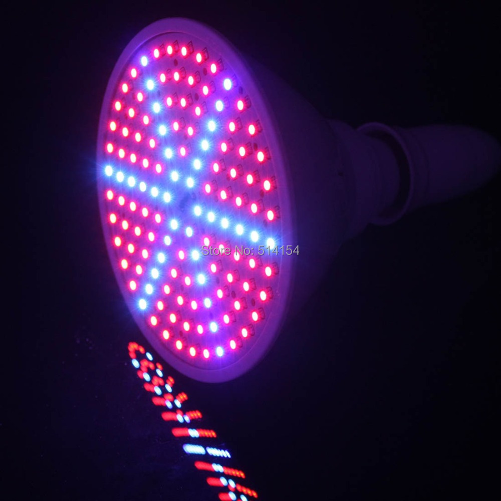 15w e27 882lm 1008lm red blue 126 smd leds hydroponic led Plant grow lights