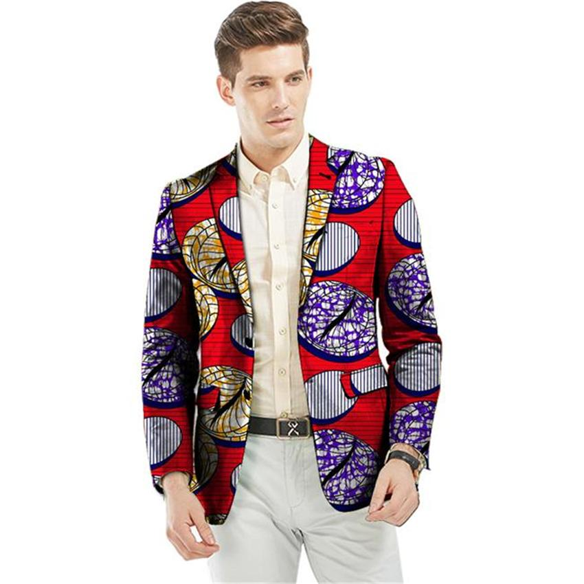 2018 Wholesale Custom Dashiki Suit African Print Blazer ...