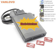 YATOUR Digital Music Changer USB SD AUX MP3 Interface for Mazda 2 3 5 6 BT-50 CX-7 MX-5 RX-8 MPV Tribute(China (Mainland))