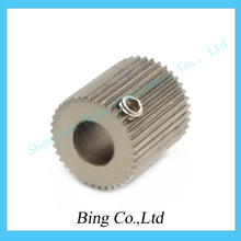 Free Shipping F11934 1 Piece 3D Printer Makerbot Extruded Wheel Wire Feed Wheel Roller Gear Inside