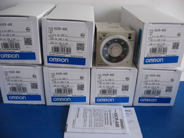Фотография [ZOB] New original OMRON Omron relay H3CR-A8E AC220V