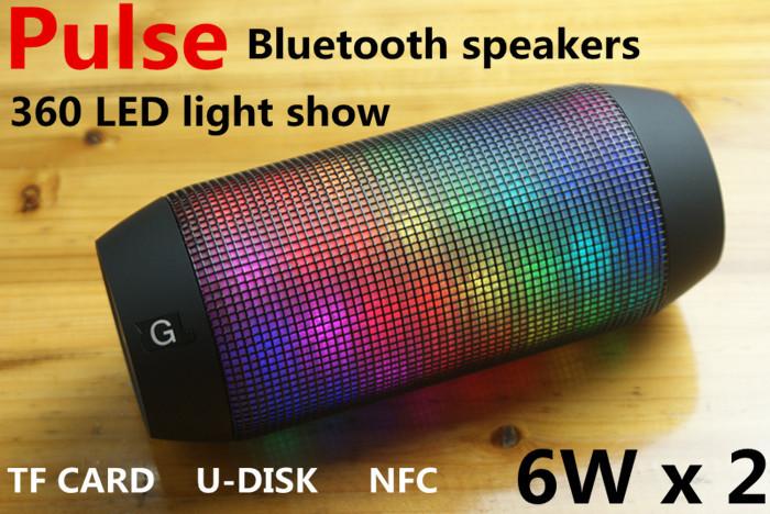 Аудио колонка 1pcs/lot Bluetooth NFC 360 TF u pulse самокаты funny scoo самокат беговел трансформер scoot