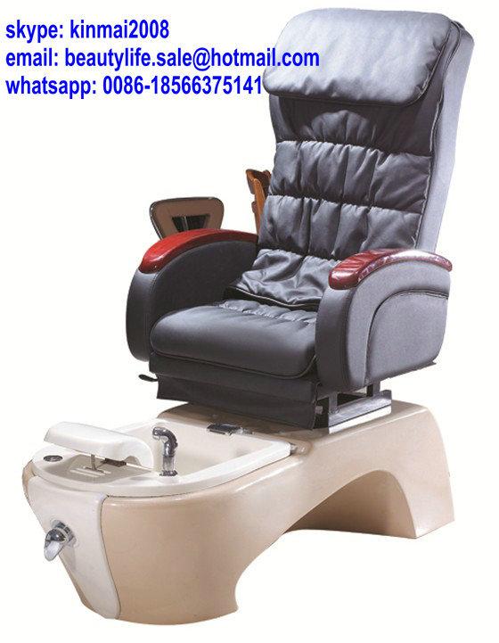 Nail salon automatic massage spa pedicure chair manicure for Nail salon equipment and furniture