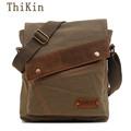Outdoor Travel Camping Crossbody Bag Solid Color Flap Pocket Women Portable Shoulder Bag Lightweight Canvas Men