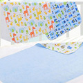 New Flannel Ultra Thin Pad Bamboo Fiber Changing Mat Summer Infant Waterproof Breathable 3D Sewing Edge