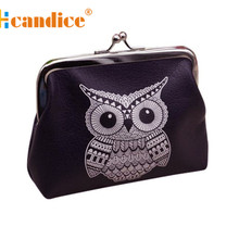 Brand new Womens Cute Owl Pattern Female Wallets Card Holder Coin Purse  Clutch Handbag ladies Gift 1 pcs(China (Mainland))