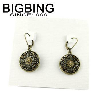 Bigbing ювелирные изделия мода женский дворец пирсинг серьги мотаться серьги мода серьги высокое качество никель бесплатно SA323