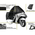 S M L XL XXL Large Motorcycle Cover Moto Bike Moped Scooter Waterproof UV Dust Protector