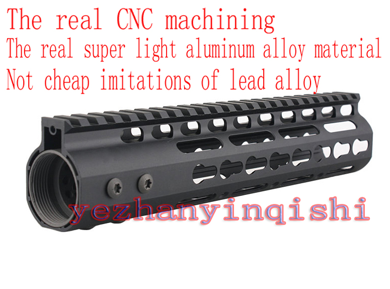 High Quality Lightest 10 inch Handguard One-piece Top Rail System For AR-15 M4 M16 BLACK - Free shipping<br><br>Aliexpress