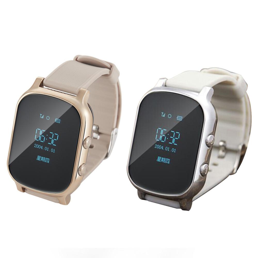 High Quality Kids Elderly Smartwatch Phone Call SOS Wristband Positioning Location GPS Tracker Smart Watch(China (Mainland))