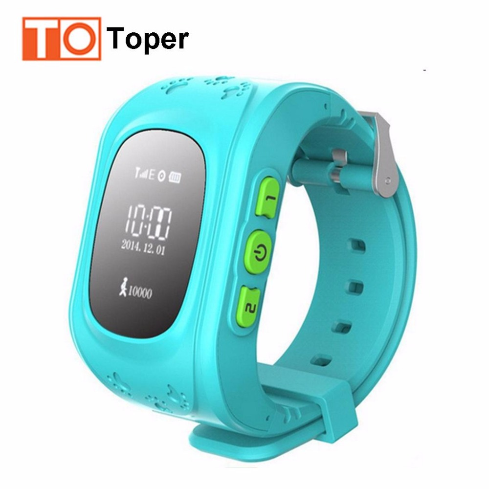 Stock GPS Tracker Watch Q50 for Kids SOS Emergency GSM Smart Mobile Phone App for IOS & Android Smartwatch Wristband Alarm(China (Mainland))